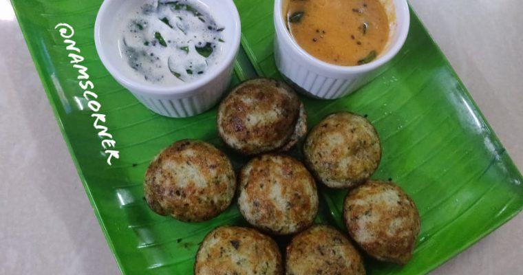 Keerai Paniyaram Recipe | Keerai Kuzhi Paniyaram | Spinach Appe