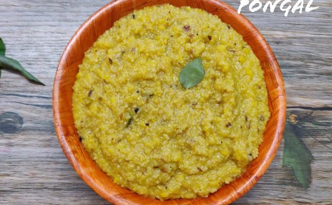 Spicy Broken Wheat Pongal | Dhaliya Pongal recipe | Samba Godhumai Khara Pongal