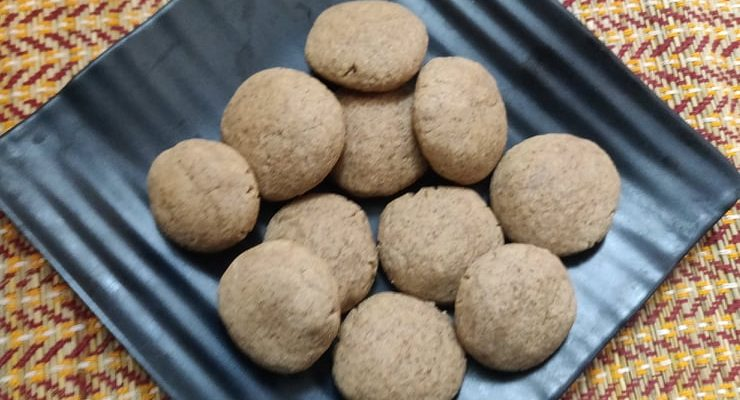 Buckwheat Cookies Recipe | Gluten free buckwheat cookies without oven