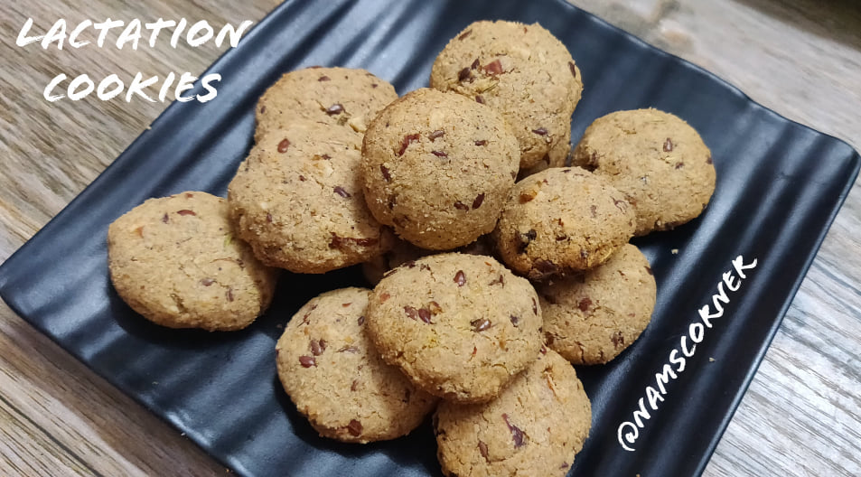 Lactation Cookies Recipe | Healthy Lactation Cookies