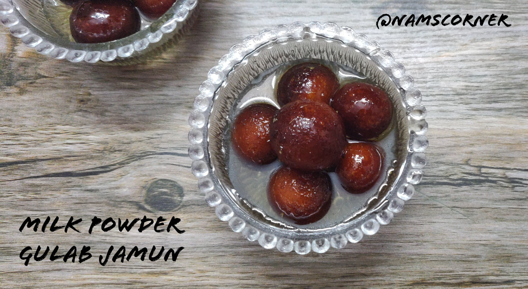 Milk Powder Gulab Jamun Recipe