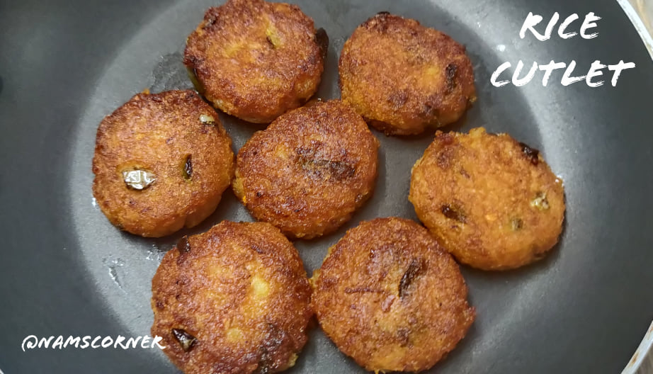 Rice Cutlet Recipe | Leftover Rice Cutlet Recipe | Leftover recipes