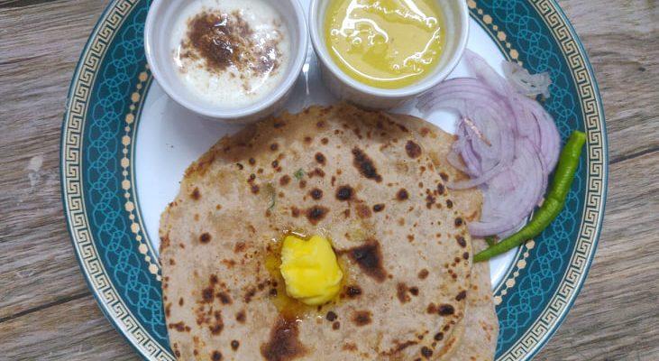 Aloo Paratha Recipe | Punjabi Aloo Paratha | Stuffed Aloo Paratha
