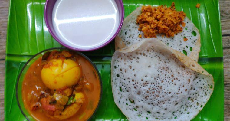 Appam Recipe   Appam recipe without yeast   Kerala Breakfast recipe