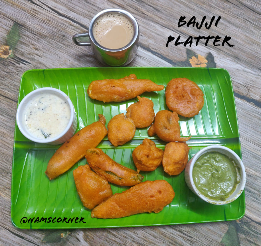 Bajji Platter | Evening snacks platter