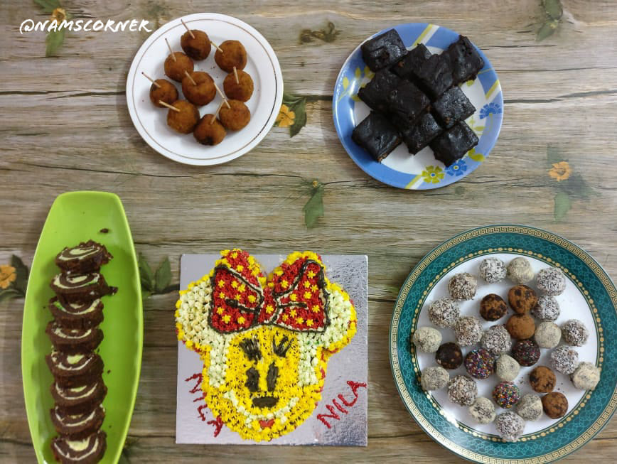 Simple Birthday Party Platter | Indian Birthday party ideas