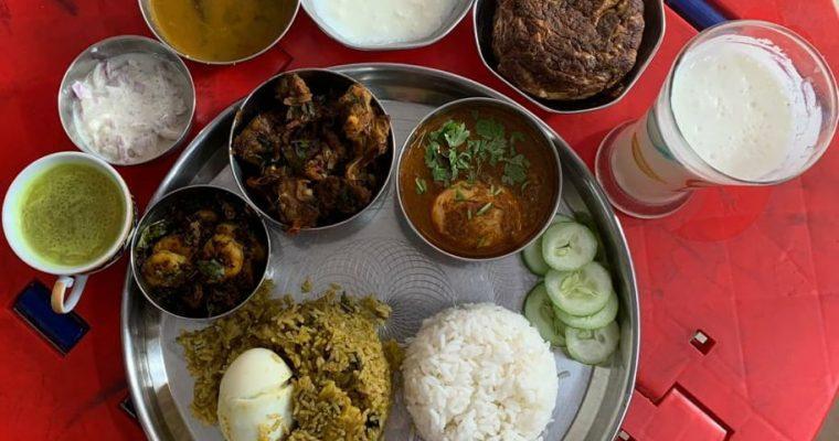 Non Veg Lunch Menu 4 | Chettinad Non Veg Thali
