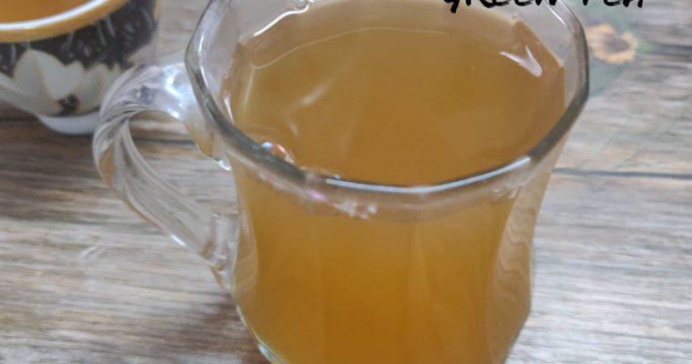 Herbal Green Tea Recipe | Spiced Green Tea | Immunity Booster