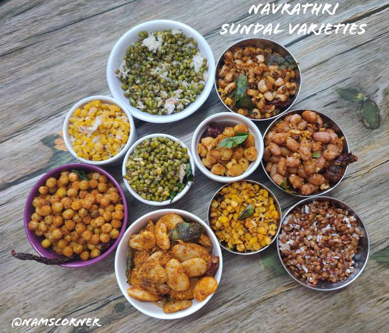 Navrathri Sundal Varieties | Navrathri Sundal Recipes