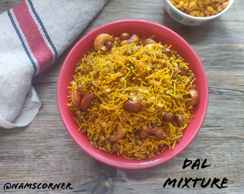 Dal Mixture Recipe | Bombay Mixture