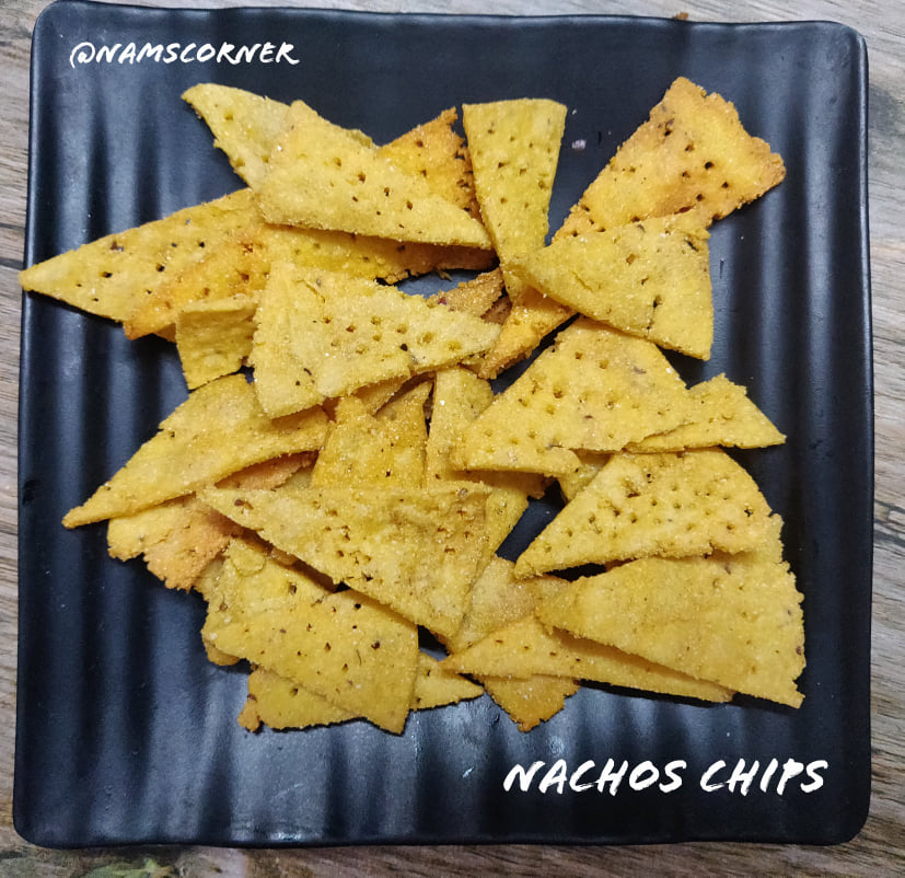 Nachos Chips Recipe | Homemade Nachos chips | Mexican chips