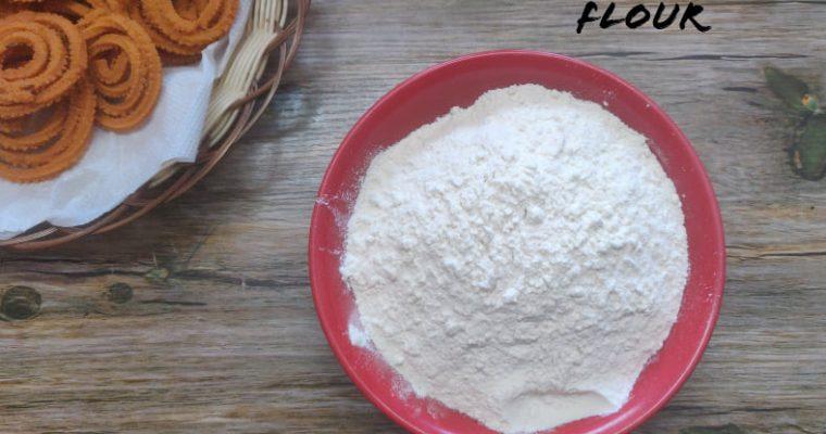 Murukku Flour Recipe | Murukku Maavu | How to make Murukku flour in home