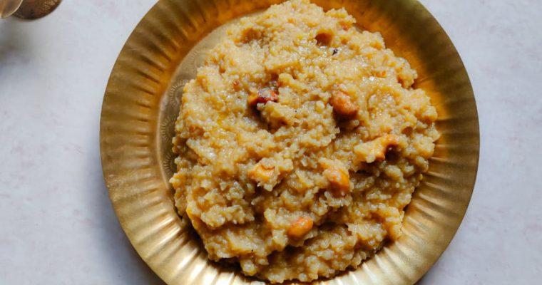 Sweet Pongal Recipe | Sakkarai Pongal | Chakkara Pongal