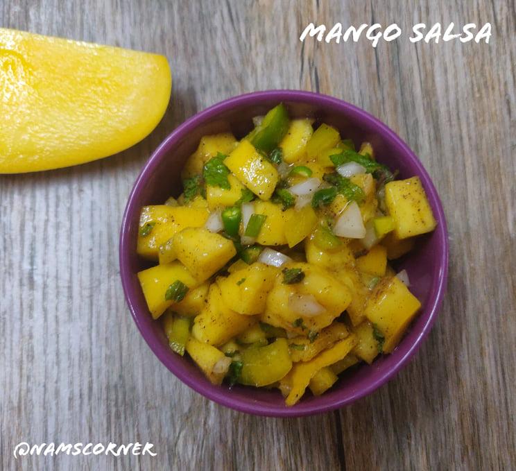 Mango Salsa Recipe | Fresh Mango Salsa