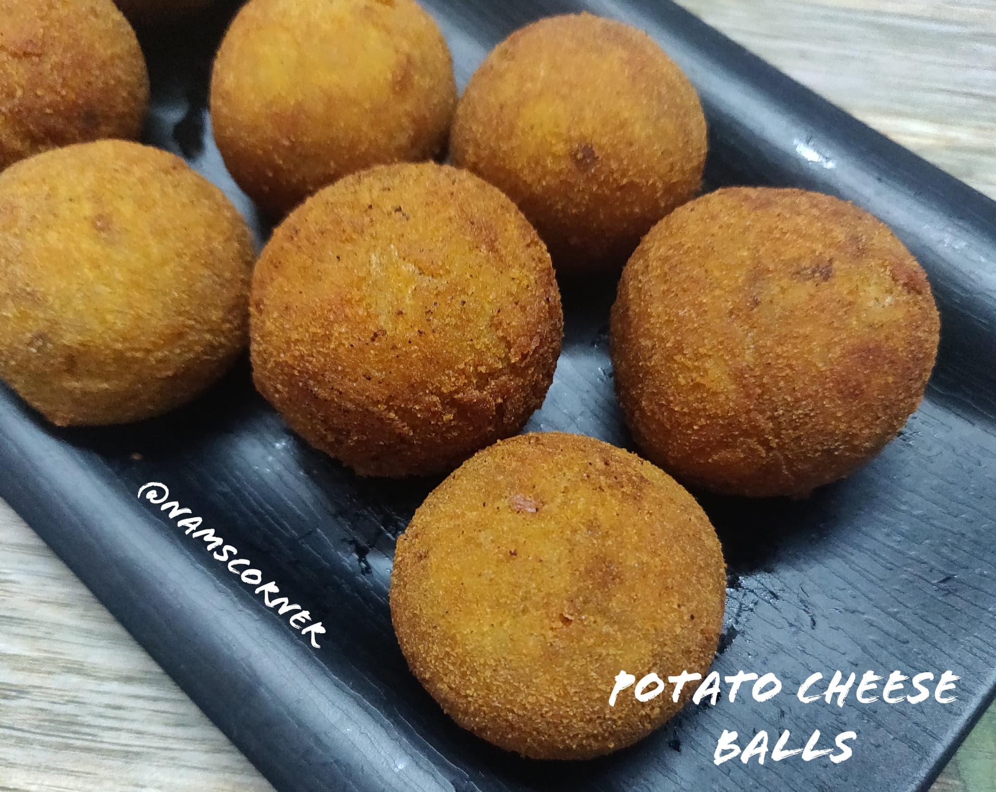 Potato Cheese Balls Recipe | Cheese Balls