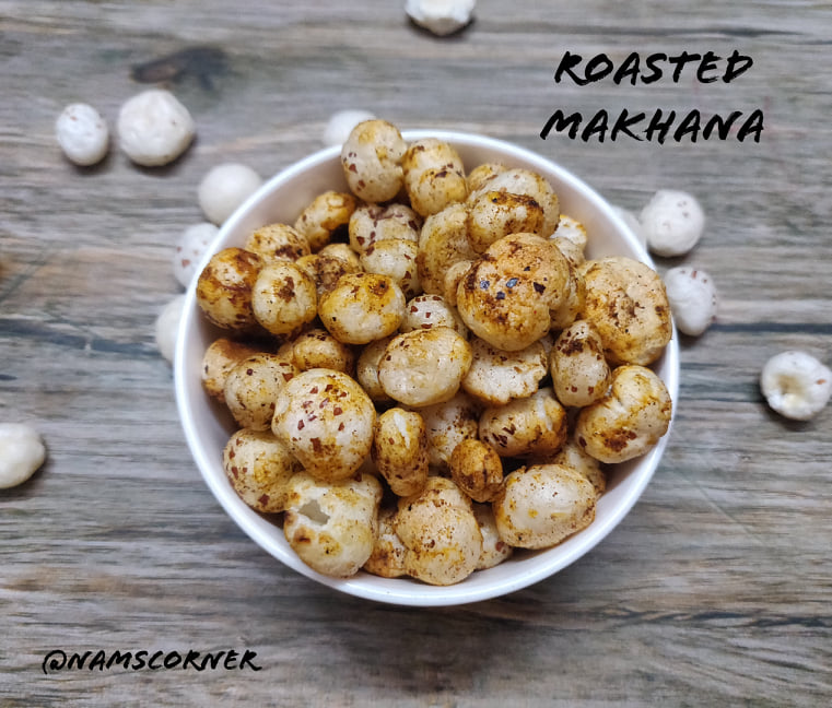 Roasted Phool Makhana Recipe | Spicy Makhana | Masala Fox nut