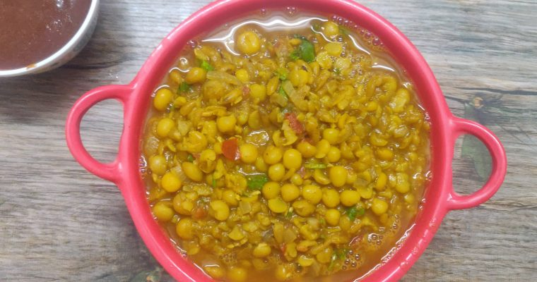 Ragda Recipe | How to make ragda for chaat | Street style yellow peas curry