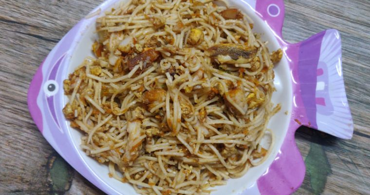 Fish Noodles Recipe | Street Style Fish Noodles