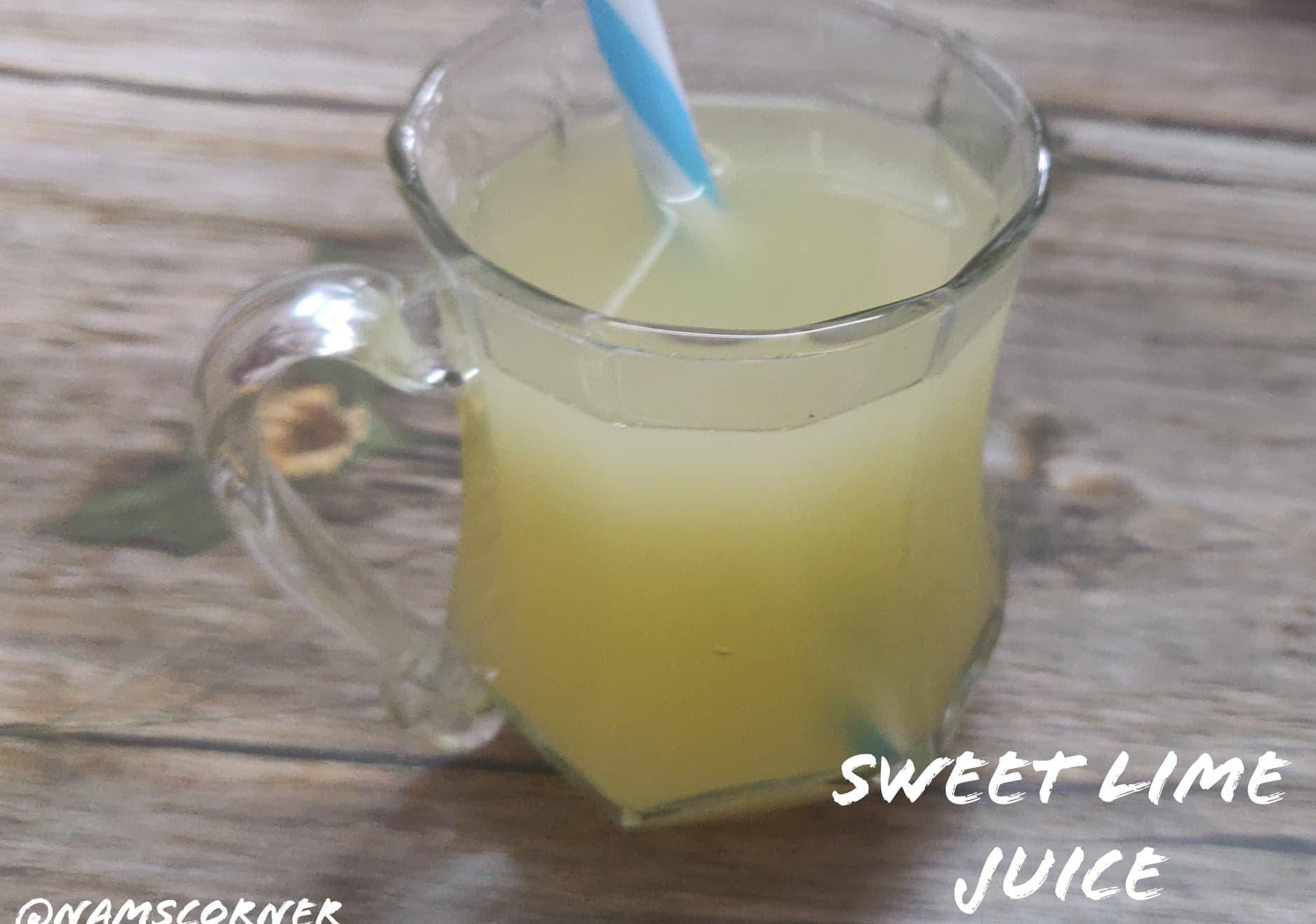 Sweet Lime Juice Recipe | Mosambi Juice