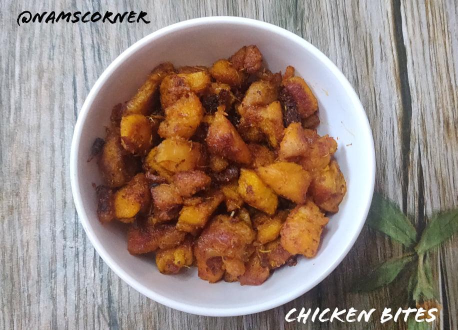 Chicken Bites Recipe   Mini chicken bites   Spicy chicken fry