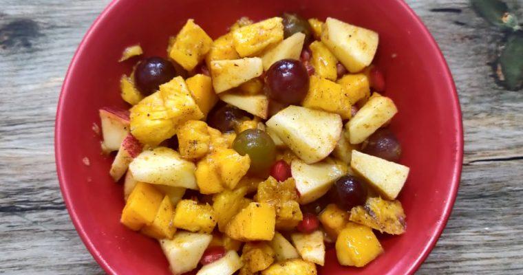 Fruit Chaat Recipe | Indian Fruit Chaat Recipe | Mixed fruit Salad