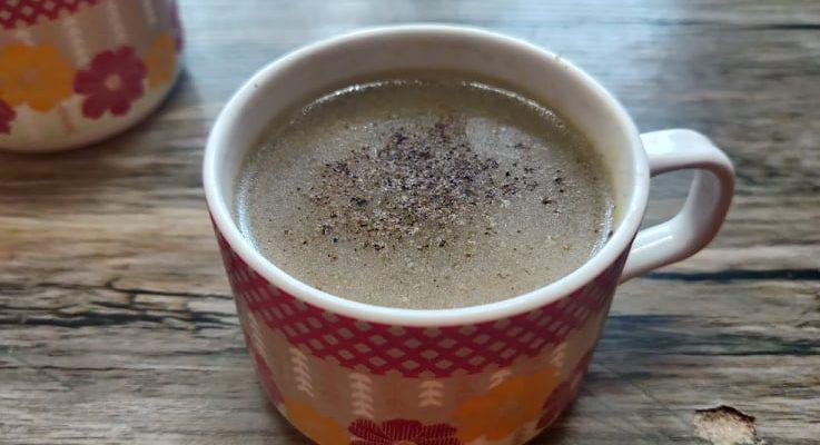 Vazhaithandu Soup Recipe | Banana Stem Soup