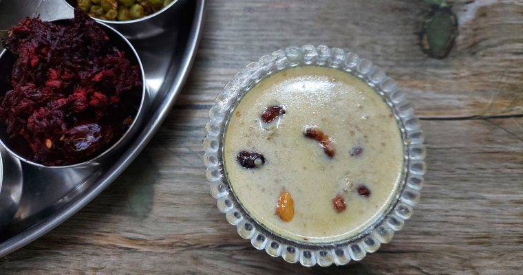 Quinoa Kheer Recipe | Quinoa Payasam recipe