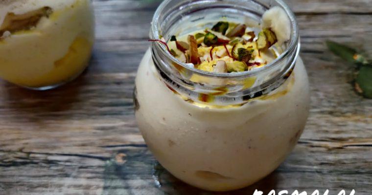 Rasmalai Jar Cakes Recipe | Rasmalai Cake Jars