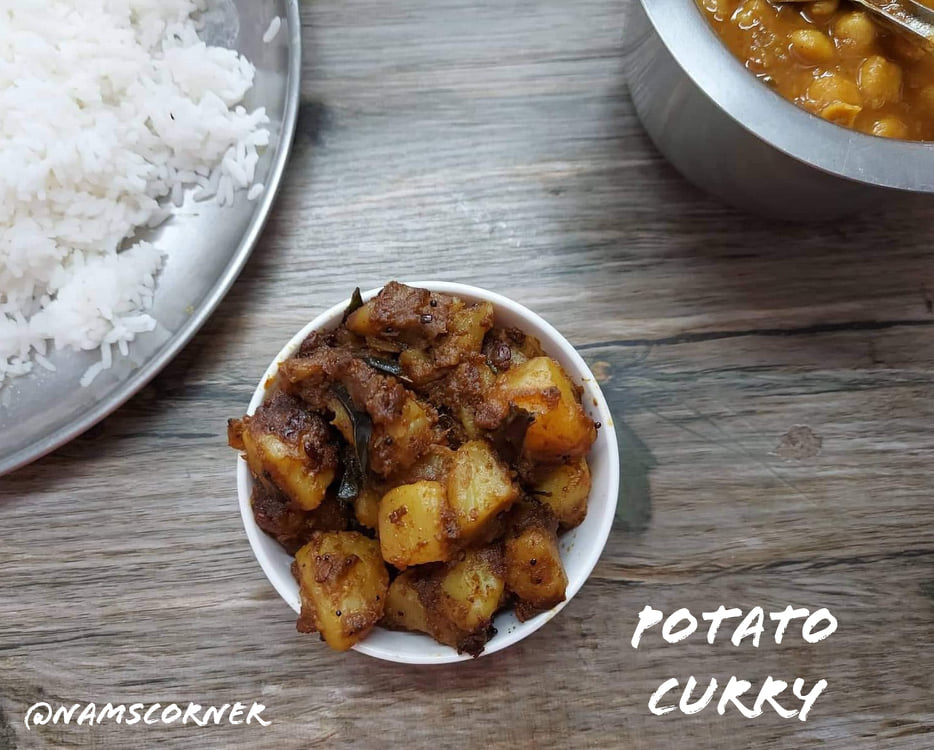Potato Curry recipe | Urulaikilangu Poriyal | Dry potato curry